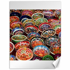 Art Background Bowl Ceramic Color Canvas 36  X 48   by Simbadda