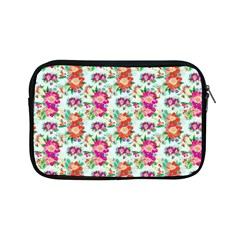 Floral Flower Pattern Seamless Apple Ipad Mini Zipper Cases by Simbadda