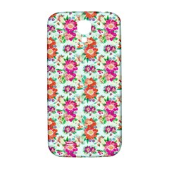 Floral Flower Pattern Seamless Samsung Galaxy S4 I9500/i9505  Hardshell Back Case