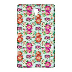Floral Flower Pattern Seamless Samsung Galaxy Tab S (8 4 ) Hardshell Case  by Simbadda