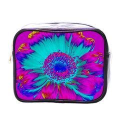 Retro Colorful Decoration Texture Mini Toiletries Bags by Simbadda