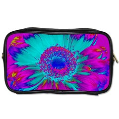Retro Colorful Decoration Texture Toiletries Bags 2 Side by Simbadda
