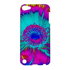 Retro Colorful Decoration Texture Apple Ipod Touch 5 Hardshell Case by Simbadda