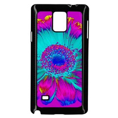 Retro Colorful Decoration Texture Samsung Galaxy Note 4 Case (black) by Simbadda