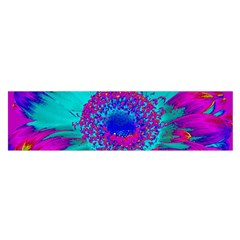 Retro Colorful Decoration Texture Satin Scarf (oblong)