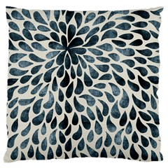 Abstract Flower Petals Floral Large Cushion Case (two Sides)