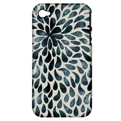 Abstract Flower Petals Floral Apple Iphone 4/4s Hardshell Case (pc+silicone) by Simbadda