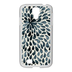 Abstract Flower Petals Floral Samsung Galaxy S4 I9500/ I9505 Case (white) by Simbadda