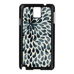 Abstract Flower Petals Floral Samsung Galaxy Note 3 N9005 Case (black)