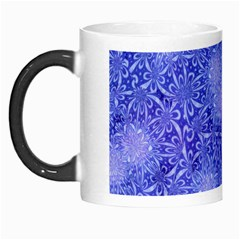 Retro Flower Pattern Design Batik Morph Mugs by Simbadda