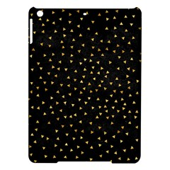 Grunge Retro Pattern Black Triangles Ipad Air Hardshell Cases