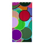 Dots Circles Colorful Unique Shower Curtain 36  x 72  (Stall)  33.26 x66.24  Curtain