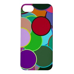 Dots Circles Colorful Unique Apple Iphone 5s/ Se Hardshell Case