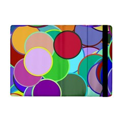 Dots Circles Colorful Unique Ipad Mini 2 Flip Cases by Simbadda