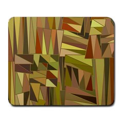 Earth Tones Geometric Shapes Unique Large Mousepads