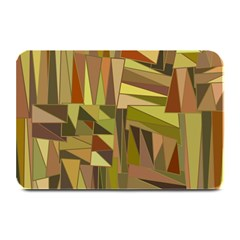 Earth Tones Geometric Shapes Unique Plate Mats by Simbadda