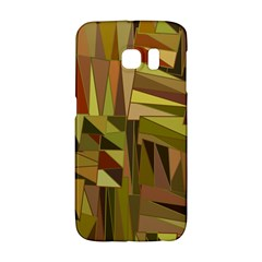 Earth Tones Geometric Shapes Unique Galaxy S6 Edge by Simbadda