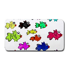 Fishes Marine Life Swimming Water Medium Bar Mats