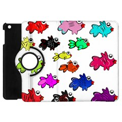 Fishes Marine Life Swimming Water Apple Ipad Mini Flip 360 Case by Simbadda