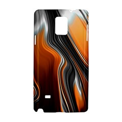 Fractal Structure Mathematics Samsung Galaxy Note 4 Hardshell Case by Simbadda