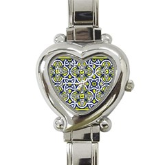 Tiles Panel Decorative Decoration Heart Italian Charm Watch by Simbadda
