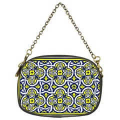 Tiles Panel Decorative Decoration Chain Purses (one Side)  by Simbadda