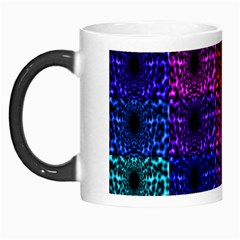 Rainbow Grid Form Abstract Morph Mugs by Simbadda