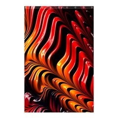 Fractal Mathematics Abstract Shower Curtain 48  X 72  (small)  by Simbadda