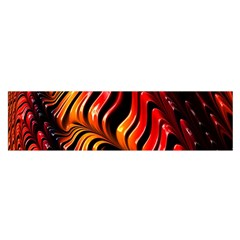 Fractal Mathematics Abstract Satin Scarf (oblong)