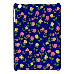 Flowers Roses Floral Flowery Blue Background Apple Ipad Mini Hardshell Case