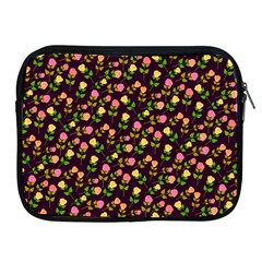 Flowers Roses Floral Flowery Apple Ipad 2/3/4 Zipper Cases by Simbadda
