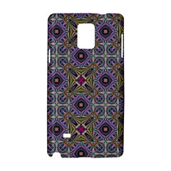 Vintage Abstract Unique Original Samsung Galaxy Note 4 Hardshell Case