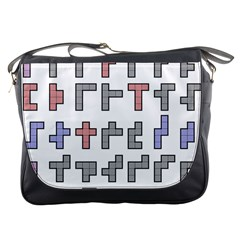 Hexominos Messenger Bags