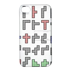 Hexominos Apple Iphone 4/4s Hardshell Case With Stand by Simbadda