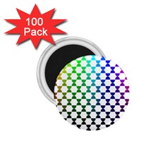 Half Circle 1 75  Magnets (100 Pack)