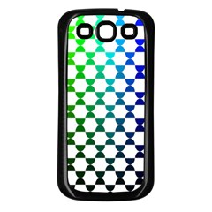 Half Circle Samsung Galaxy S3 Back Case (black) by Simbadda