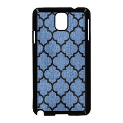 Tile1 Black Marble & Blue Denim (r) Samsung Galaxy Note 3 Neo Hardshell Case (black) by trendistuff