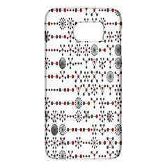 Bioplex Random Kimia Circle Grey Red Galaxy S6