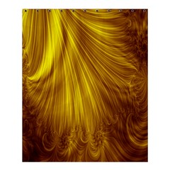 Flower Gold Hair Shower Curtain 60  X 72  (medium)  by Alisyart