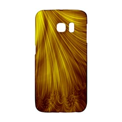 Flower Gold Hair Galaxy S6 Edge by Alisyart