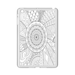 Flower Rose Flowering Sunflower Black Ipad Mini 2 Enamel Coated Cases