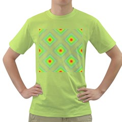 Color Square Green T Shirt