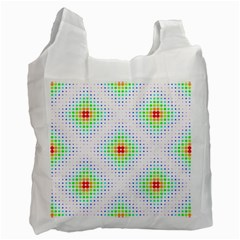 Color Square Recycle Bag (one Side) by Simbadda