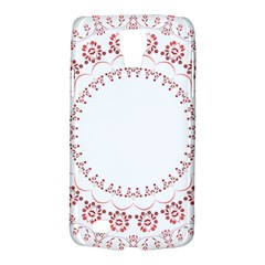Floral Frame Pink Red Star Leaf Flower Galaxy S4 Active