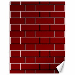 Flemish Bond Canvas 12  X 16   by Simbadda