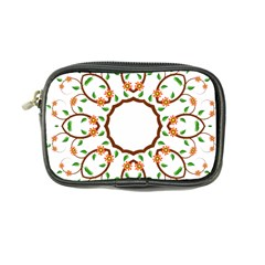 Frame Floral Tree Flower Leaf Star Circle Coin Purse by Alisyart