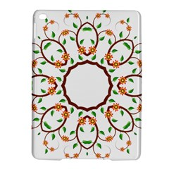 Frame Floral Tree Flower Leaf Star Circle Ipad Air 2 Hardshell Cases by Alisyart