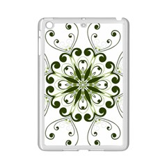 Frame Flourish Flower Green Star Ipad Mini 2 Enamel Coated Cases by Alisyart