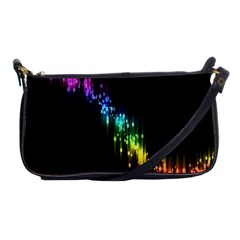 Illustrations Black Colorful Line Purple Yellow Pink Shoulder Clutch Bags by Alisyart