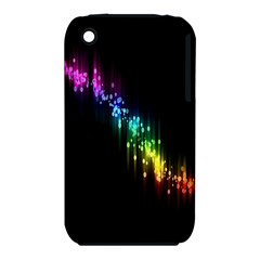 Illustrations Black Colorful Line Purple Yellow Pink Iphone 3s/3gs by Alisyart